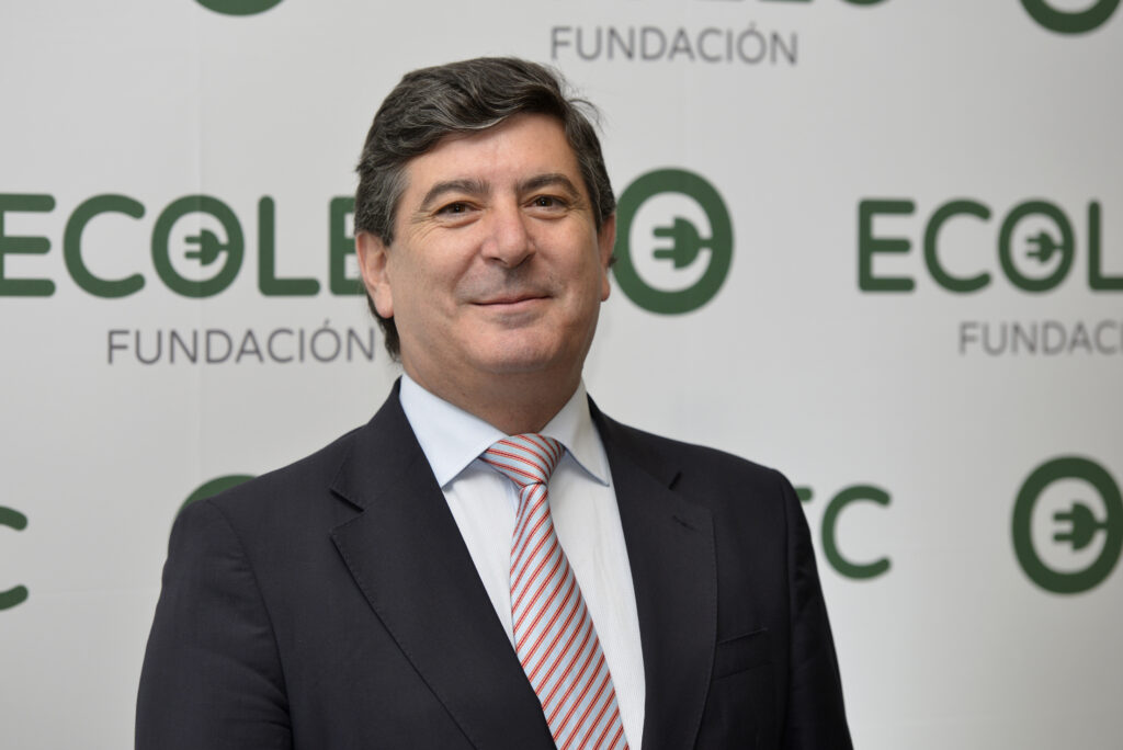 Luis Moreno, director de la Fundación ECOLEC