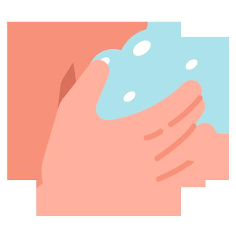 Icono de lavado de manos