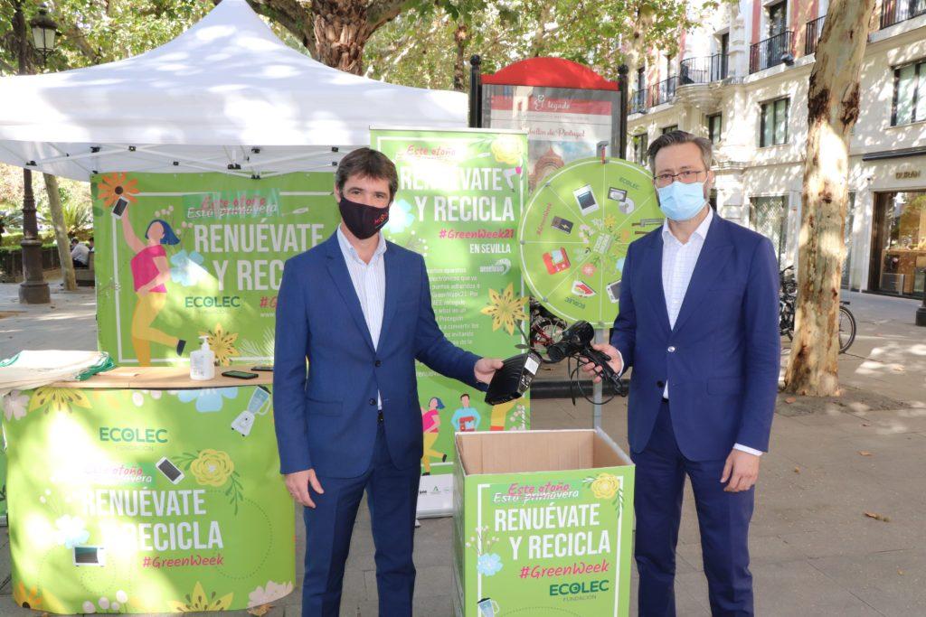 Sevilla acoge cierre #GreenWeek21