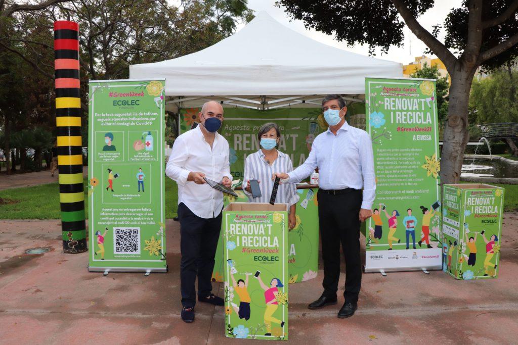 Ibiza acoge la #GreenWeek21
