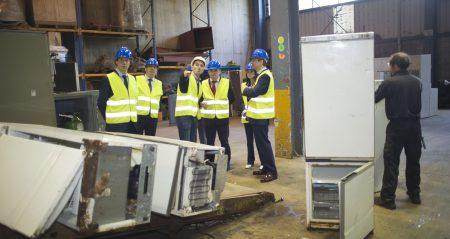 Gestión 1 millón – planta de residuos de A Coruña