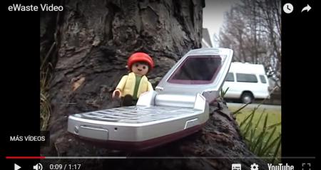Videoanimaciones de concienciación medioambiental RAEE – eWaste Video