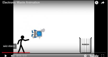 Videoanimaciones de concienciación medioambiental RAEE – Electronic Waste Animation