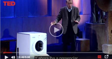 Consejos sobre ahorro y uso responsable de energía – Hans Rosling and the magic washing machine