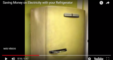 Consejos sobre ahorro y uso responsable de energía – Saving money on electricity with your refrigerator
