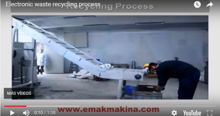 Proceso y beneficio del reciclaje electrónico – Electronic waste recycling process