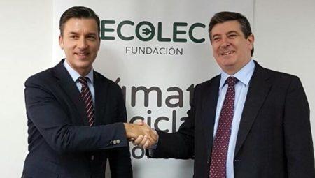 ACEMA y ECOLEC renuevan su colaboración en la gestión de los RAEE
