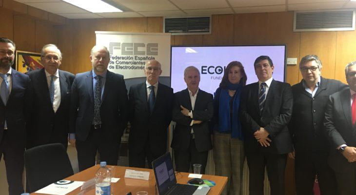 Más de una decena de cadenas de tiendas de electrodomésticos apoyan el programa #GreenShop de la Fundación ECOLEC