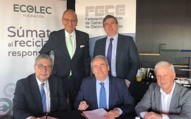 ECOLEC y FECE confirman un año más su convenio de colaboración