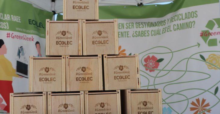 Fundación Ecolec recicla RAEE en 15 ciudades a través de la #GreenWeek19