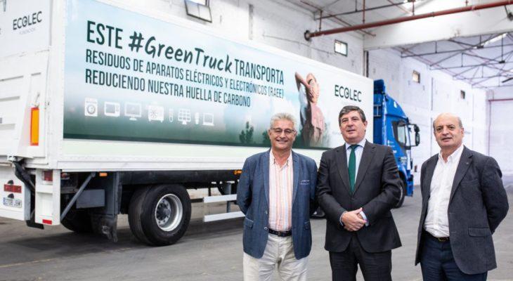 La Fundación ECOLEC presenta en Barcelona su iniciativa #GreenTruck de camiones respetuosos con el medio ambiente y el desarrollo sostenible