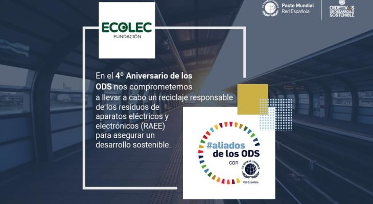 Fundación ECOLEC participa en una iniciativa de Pacto Mundial llamada #aliadosdelosODS