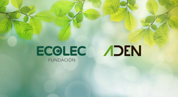 Ecolec y ADEN renuevan su colaboración  para la correcta gestión de los RAEE