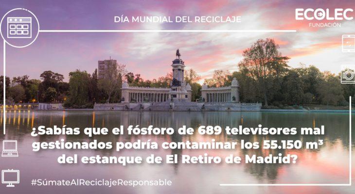 La Fundación ECOLEC recuerda la importancia del reciclaje de residuos de aparatos electrónicos también durante la crisis sanitaria de la COVID-19