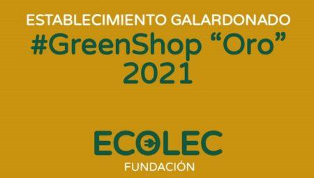 Ecolec reconocerá el compromiso de 75 establecimientos #GreenShop de toda España con los distintivos Oro y Plata