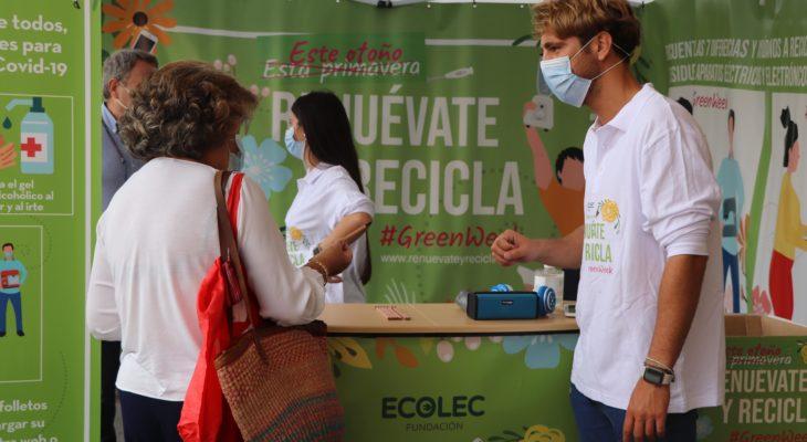 Fundación ECOLEC celebra la cuarta edición de la #GreenWeek20 con el objetivo de concienciar sobre el reciclaje de RAEE