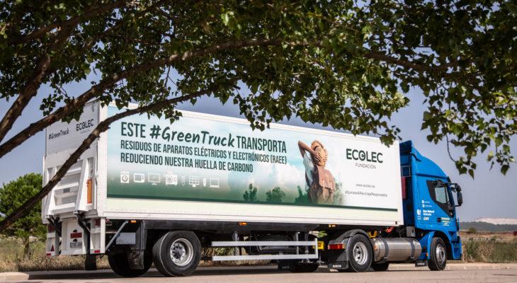 Fundación ECOLEC recuerda la importancia de iniciativas como #GreenTruck en el Día Mundial por la reducción de emisiones de Co2